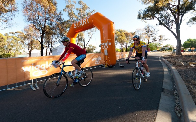 image of cyclists at a Sportive