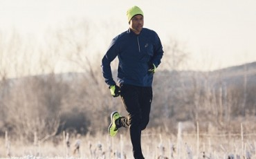 Run through winter with ASICS